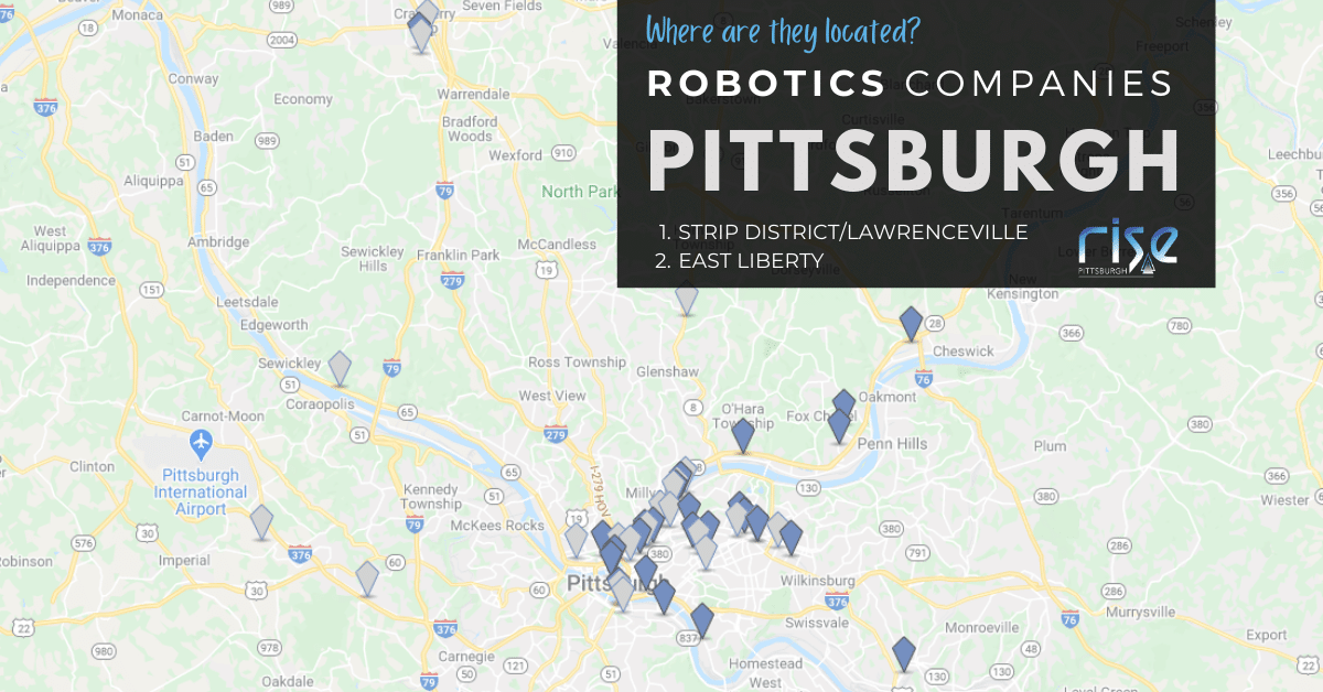 Robotics Companies Love Pittsburgh